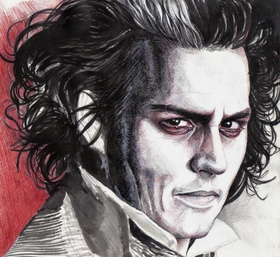 Johnny Depp by Verte_Feuille